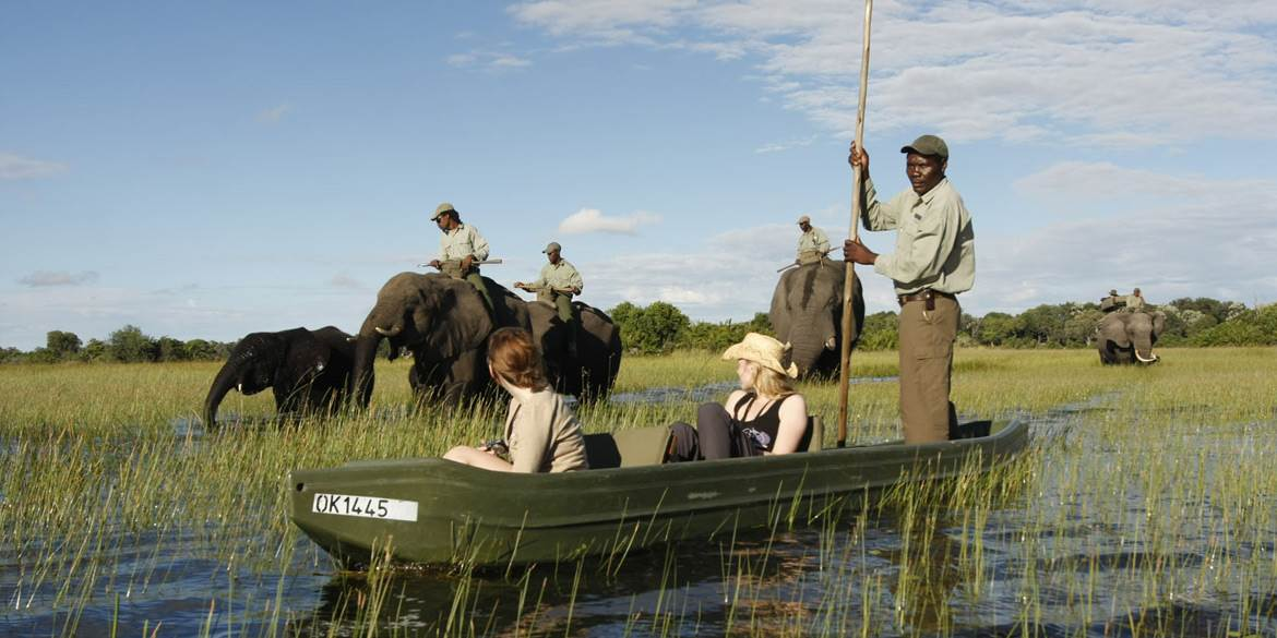 Abu Camp Canoe Safari