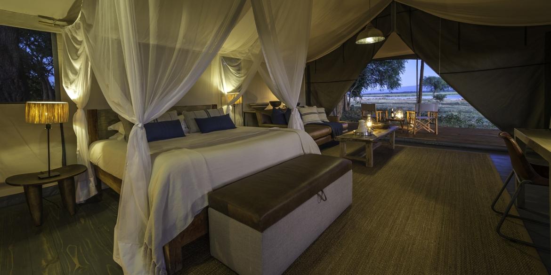 Ruckomechi Bedroom
